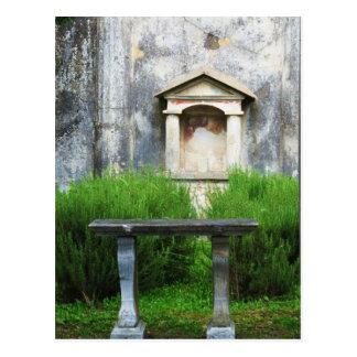 Haus des kleinen heidnischen Brunnens Postkarte