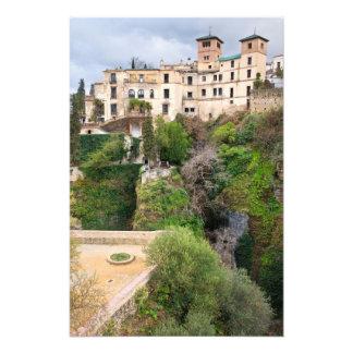 Haus des maurischen Königs in Ronda Photodrucke