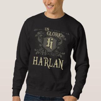 Haus HARLAN. Geschenk-Shirt für Geburtstag Sweatshirt