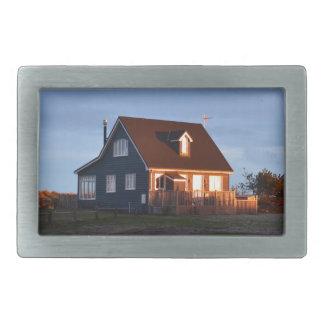 Haus hinter den Dünen Rechteckige Gürtelschnalle