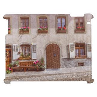 Haus im Gruyeredorf, die Schweiz iPad Schale