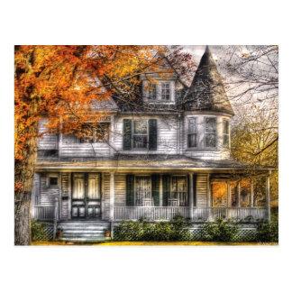 Haus - klassisches viktorianisches postkarte