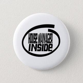 Haus-Manager nach innen Runder Button 5,1 Cm