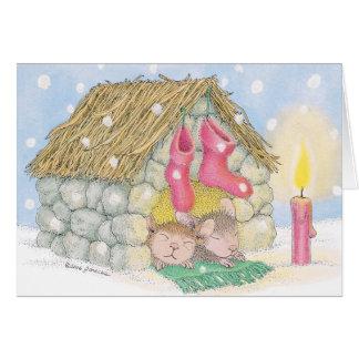Haus-Maus Designs® - Weihnachtskarten Grußkarte