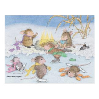 Haus-Maus Designs® - Weihnachtspostkarten Postkarte