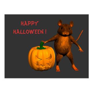 Haus-Maus Postkarte