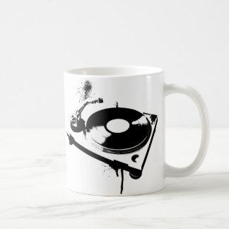 Haus-Musik-Geschenke der Diskjockey Kaffeetasse