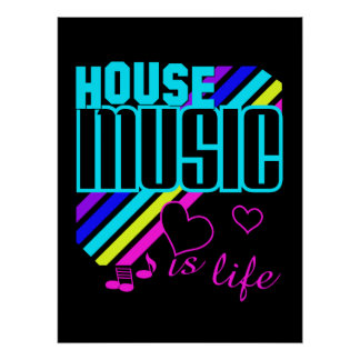 Haus-Musikplakat