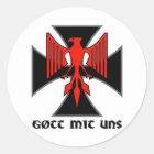 Haus Nürnberg Gott-MIT uns Aufkleber