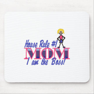 Haus-Regel #1 Mousepad