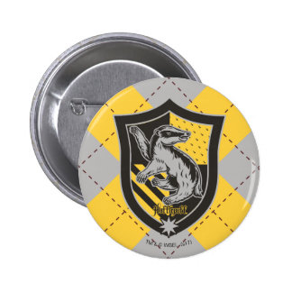 Haus-Stolz-Wappen Harry Potter | Hufflepuff Runder Button 5,7 Cm