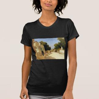 Haus von Hirse bei Barbizon durch Johan Hendrik T-Shirt