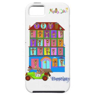 Haus von Stimmungen durch Happy Juul Company iPhone 5 Hülle