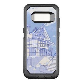 Haus: Watercolor zeichnen OtterBox Commuter Samsung Galaxy S8 Hülle
