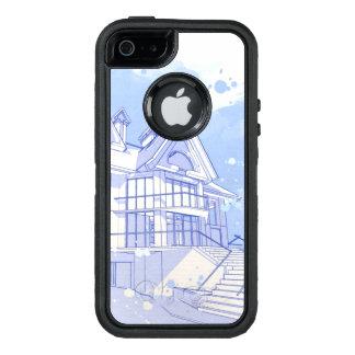 Haus: Watercolor zeichnen OtterBox iPhone 5/5s/SE Hülle