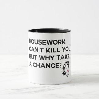 Hausarbeit kann Sie nicht töten Tasse