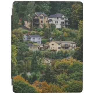 Häuser auf dem Hügel iPad Hülle