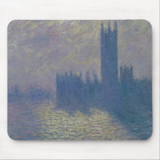 Häuser Claude Monets | des Parlaments, stürmischer Mauspad