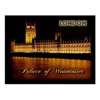 Häuser des Parlaments, London Postkarte