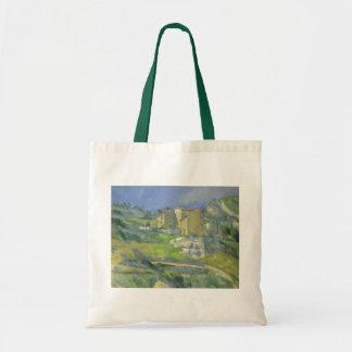 Häuser in Provence durch Paul Cezanne, Vintage Tragetasche