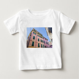 Hausfassaden Monterosso Cinque Terre Ligurien Ital Baby T-shirt