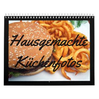 Hausgemachte Küchenfotos Abreißkalender