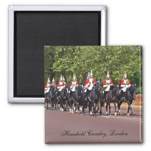 Haushalts-Kavallerie London Kühlschrankmagnete