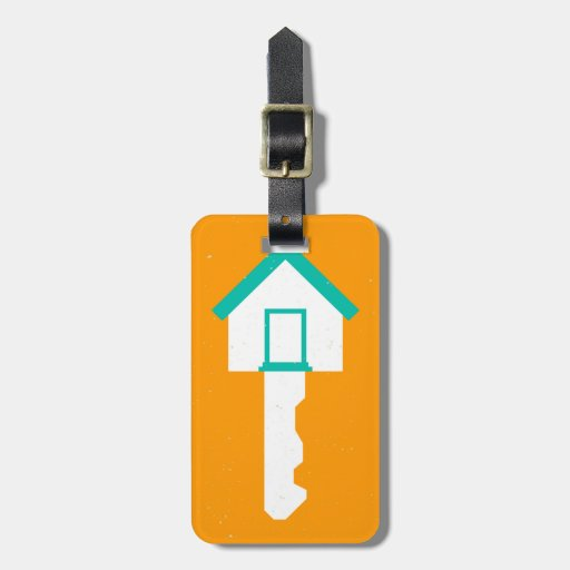 Hausschlüssel Adress Schild