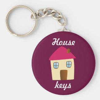 Hausschlüssel Standard Runder Schlüsselanhänger