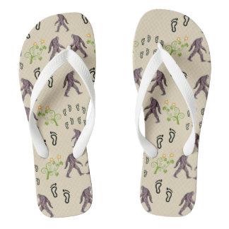 Hausschuh des Grande/Fußes Bigfoot Flip Flops