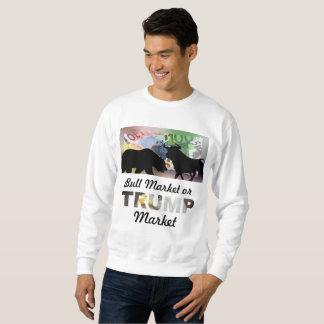 Hausse oder Trumpf-Markt Sweatshirt