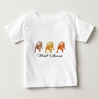 Hausse Wall Streets Baby T-shirt