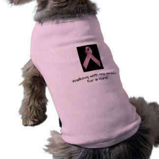Haustier-Brustkrebs-T - Shirt