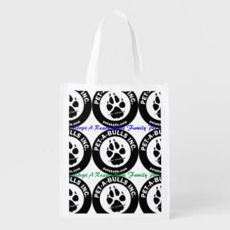 Haustier-EIN-Stiere wiederverwendbare Tasche Wiederverwendbare Einkaufstaschen