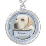 Haustier-Erinnerungscharme-Halskette für Hunde