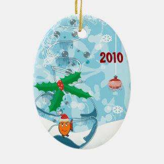 fische weihnachts keramik ornamente zazzle. Black Bedroom Furniture Sets. Home Design Ideas