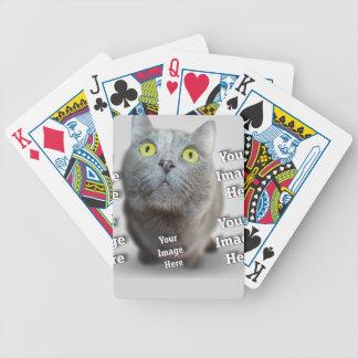 Haustier-Foto-Schablone Bicycle Spielkarten