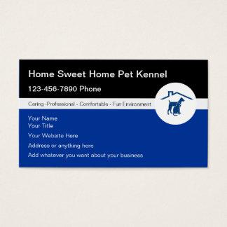 Haustier-Hundehütten-Visitenkarten Visitenkarten