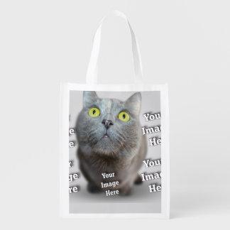 Haustier ImageTemplate Wiederverwendbare Einkaufstasche