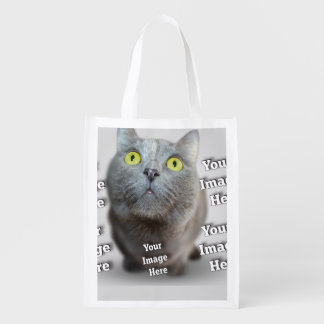 Haustier ImageTemplate Wiederverwendbare Einkaufstaschen