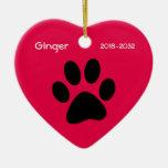 Haustier-Katzen-Erinnerungsweihnachtsverzierung Weihnachtsbaum Ornament