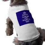 Haustier-Kleidung Haustiershirt