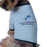Haustier-Kleidung - Wecker Dysautonomia Bewusstsei Hundeshirts
