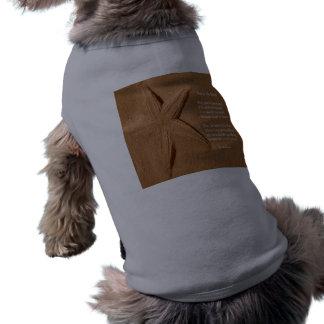 Haustier-Kleidungs-Gedicht-Stern im Sand durch Lad Shirt