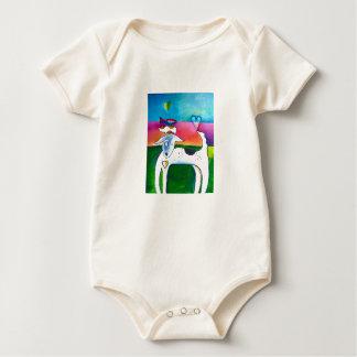 Haustier-Liebe-Malen Baby Strampler