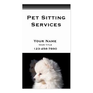Haustier-Modell Visitenkarten Vorlagen