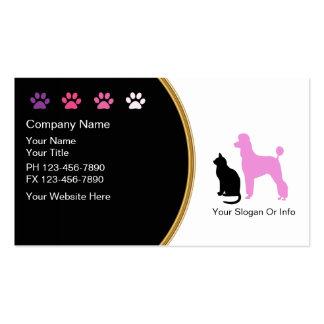 Haustier-PflegenVisitenkarten neu Visitenkarten