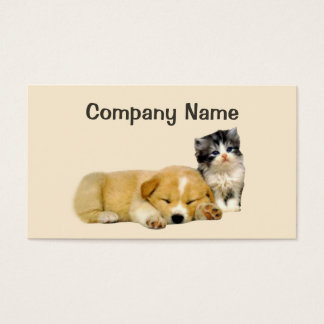 Haustier-Produkt-u. Service-Visitenkarte Visitenkarten
