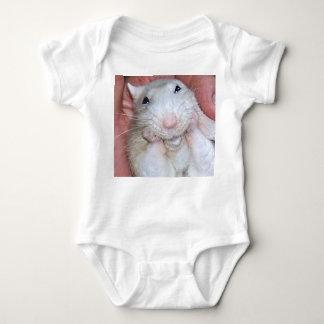 Haustier-Ratte Jersey Baby Strampler