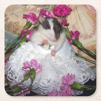 Haustier-Ratten-Braut Trudy Untersetzer